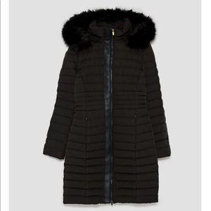 Jackets & Blazers - Zara long anorak with hood